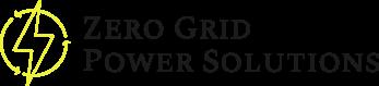 Zero Grid Power Solutions company logo